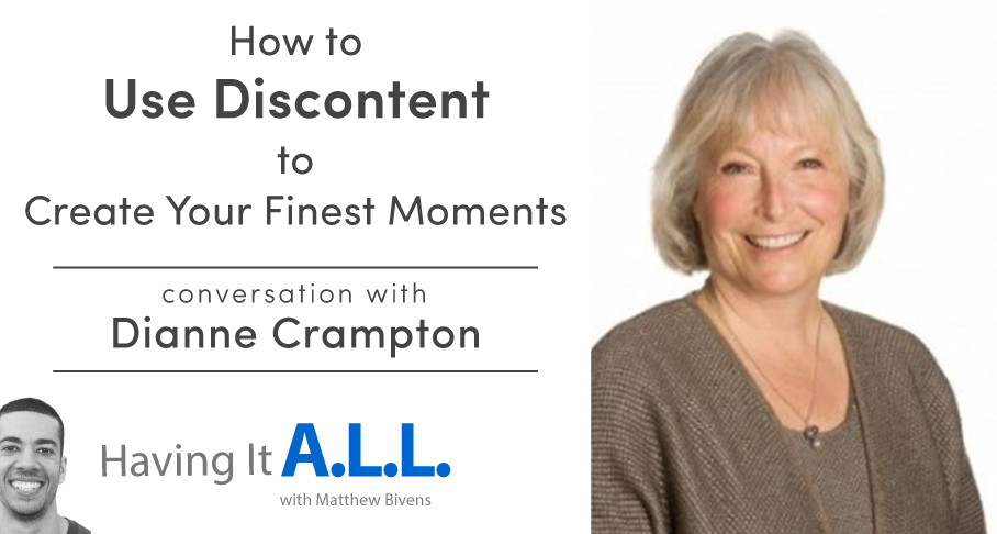 Having it all podcast with Dianne Crampton