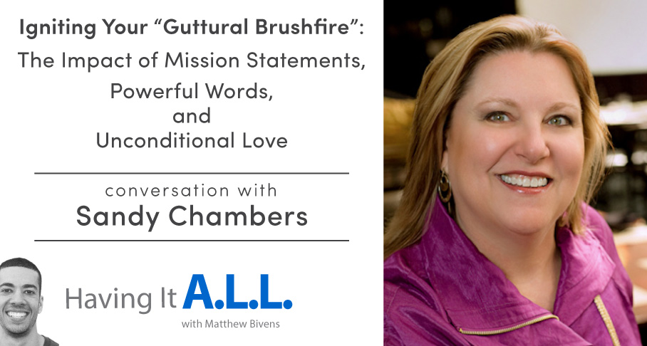 Having it all podcast with Sandy Chambers